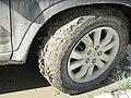 Muddy Wheels, Dawson City, Yukon (3901924123).jpg