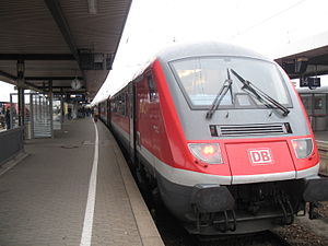 "Nuremberg Central Station - Train ""München-Nürnberg-Express"""
