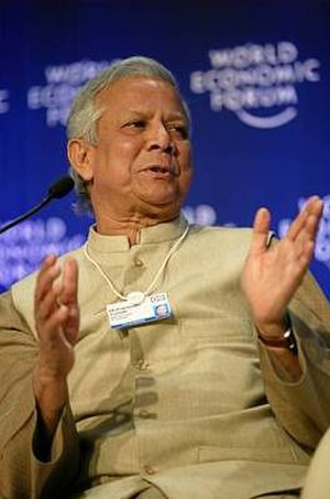 Nagorik Shakti - Nobel Laureate, Muhammad Yunus, the proponent of Nagorik Shakti