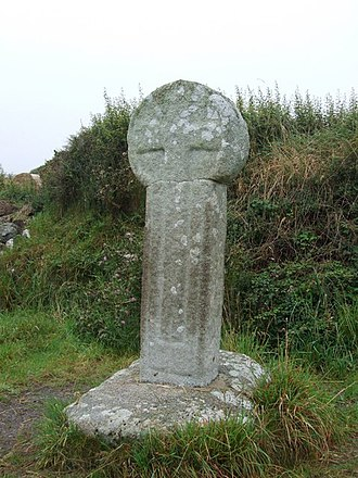Mullion, Cornwall - Predannack Cross
