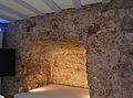 Muralla islàmica de València a l'interior d'un edifici del carrer del portal de la Valldigna.JPG