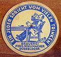Musée Européen de la Bière, Beer coaster pic-051.JPG
