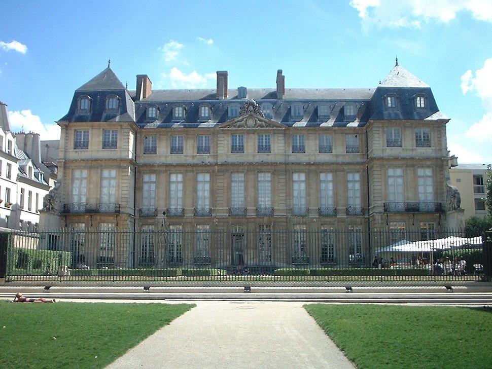 Musée Picasso Paris coté jardin