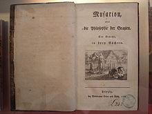 Titelblatt der Musarion (Quelle: Wikimedia)