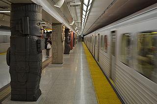 Toronto subway rapid transit system in Toronto, Ontario, Canada