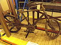 Museum Collections Centre - 25 Dollman Street - warehouse - Wooden Bicycle (7274033992).jpg