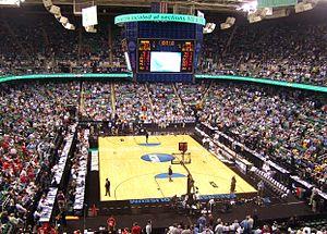 Greensboro Coliseum Complex - UNC vs. Radford (c.2009).