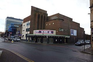 The NEON cinema and music venue in Newport, Wales