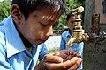 NEWAH WASH water project in Puware Shikhar, Udayapur District, Nepal. (10710497414).jpg