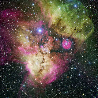 NGC 2467 Open cluster in the constellation Puppis