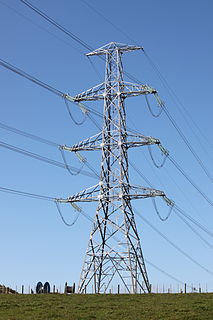 Electric power industry industry that provides the production and delivery of electric energy
