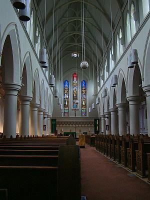 St. Patrick's Church, St. John's - The interior