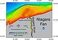 NOAA bathymetric map of the Niagara Fan.jpg