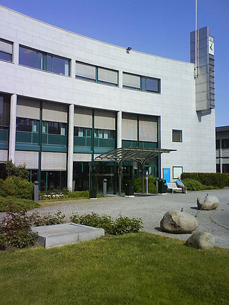 NRK - Entrance to Television House, another building at NRK's headquarters