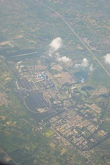 NTPC Power Station - Aerial View - Dadri 2016-08-04 5757.JPG