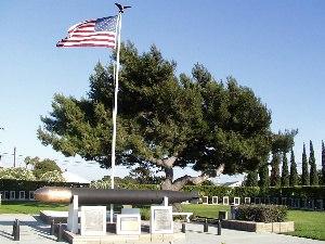 Naval Weapons Station Seal Beach - World War II Submarine Memorial
