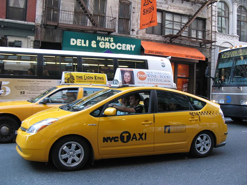 NYC Hybrid Taxi.JPG