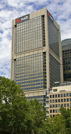National Bank House - Image: Nab tower Melb