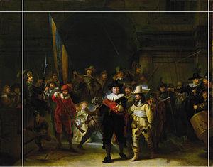 Картина рембрандта ночной дозор доклад 6758