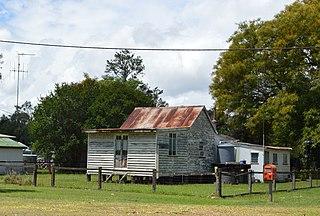 Nagoorin Town in Queensland, Australia