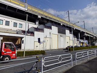 Naka-Urawa Station Railway station in Saitama, Japan