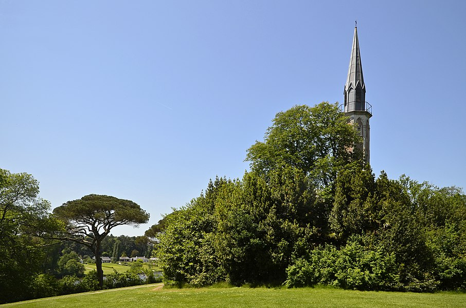 Chantrerie's neo-gothic chapel - Nantes, France