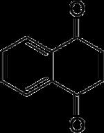 Strukturformel von 1,4-Naphthochinon