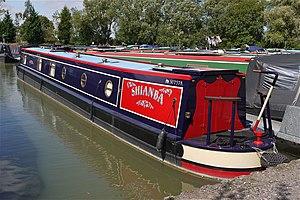 Narrow Boat at Debdale Wharf Leics - Flickr - mick - Lumix.jpg