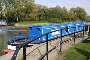 Narrow Boat at Foxton Locks Leics - Flickr - mick - Lumix(1).jpg