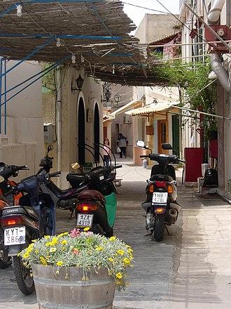 Gaios - Street of Gaios