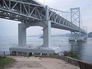Naruto Strait - Flow and bridge