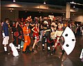Naruto cosplayers at Anime Expo 2003-07a.jpg