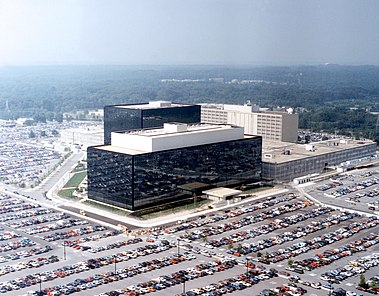 National Security Agency headquarters%2C Fort Meade%2C Maryland.
