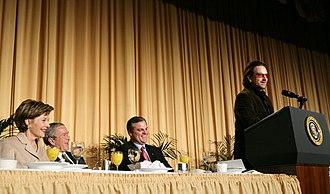 National Prayer Breakfast - Image: National prayer breakfast 2006