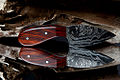 Neck knife aus Damaszener Stahl von Holger Müller.jpg