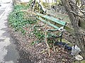 Neglected seat, Clifton - geograph.org.uk - 1180544.jpg