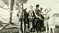 Neighbors visit George Yates and his latest airplane. (Beaverton, Oregon Historical Photo Gallery) (16).jpg