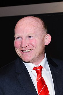 Neil Jenkins. Wales Grand Slam Celebration, Senedd 19 March 2012.jpg