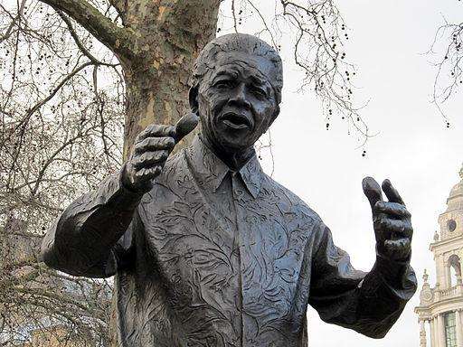 Nelson Mandela statue, Westminster