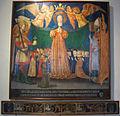 Neri di bicci, madonna della misericordia tra i santi bernardino e nicola di bari, 1456, da s.m. delle grazie.JPG