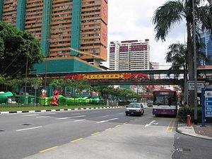 New Bridge Road - New Bridge Road, within Chinatown, Singapore.