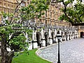 New Palace Yard arcade, Palace of Westminster.jpg