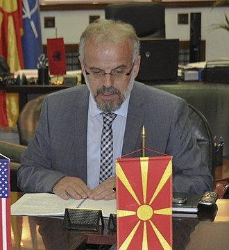 Assembly of North Macedonia - Image: New VTNG adjutant general moves Macedonia partnership forward 130912 Z DH905 009 (cropped)
