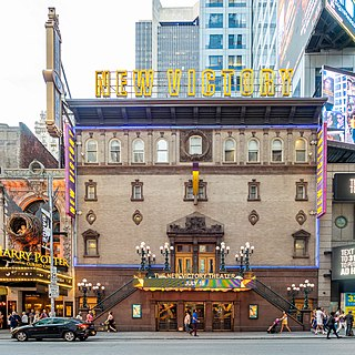 theater and former movie theater in the Garment District of Manhattan, New York City, United States