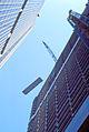 New York Marriott Marquis Hotel Under Construction - 1984.jpg