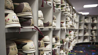 Footwear - Bowling shoes are a type of athletic shoe