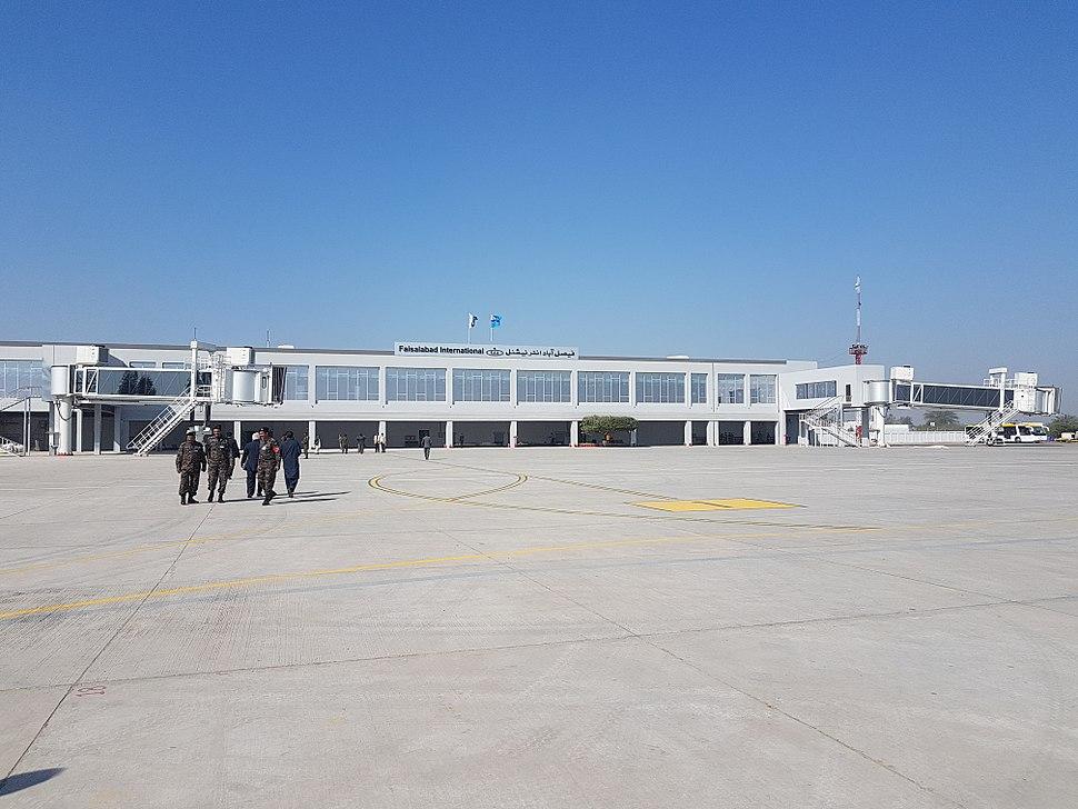 New terminal building at Faisalabad International Airport 16