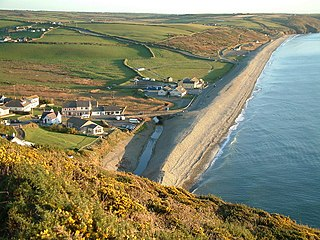 Newgale, Pembrokeshire village in Wales, United Kingdom