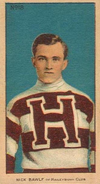 Nick Bawlf - Image: Nick Bawlf, Haileybury Hockey Club