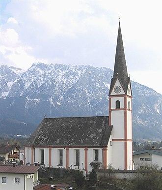 Niederndorf - Image: Niederndorf St. Georg 2